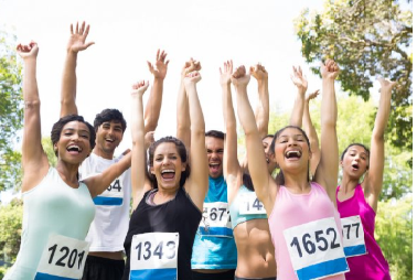 Boost-Your-Mental-Strength-In-A-Marathon-Race-Cheering-Female-Runners