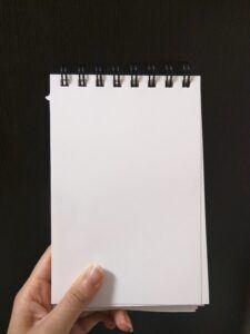 : blank-empty-memo-notebook