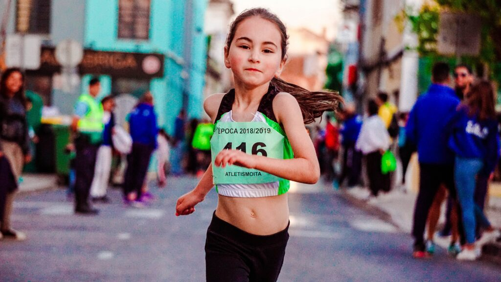 How-To-Raise-Your-Opportunities-With-Marathon-Training-Little-Girl-Running-In-A-Race