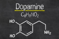 How-to-avoid-symptoms-of-chemical-imbalance-in-running- dopamine-chemical-formula-illustration