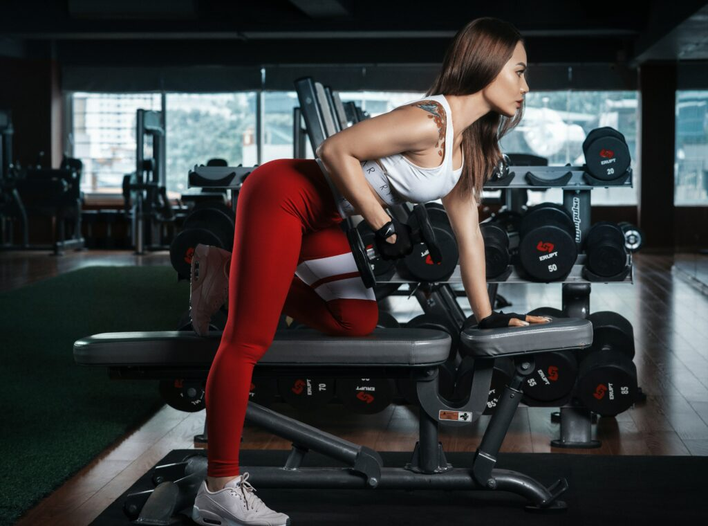 Quality-and-Strength-Benefits-of-Practical-Cross-Training-Woman-training-with-dumbbell