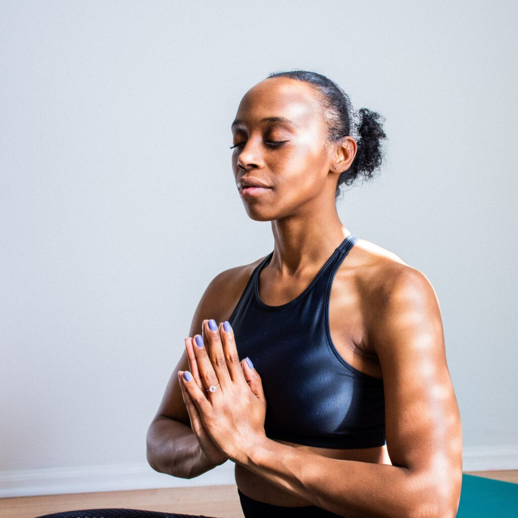 what-is-benefits-of-running-woman-meditate